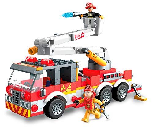 Mega Construx GLK54 - Feuerwehrauto und Figur (244 Stück)