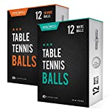 PRO SPIN Ping Pong Balls - 3-Star 40+ Table Tennis Balls | High-Performance ABS Training Balls | Ultimate...