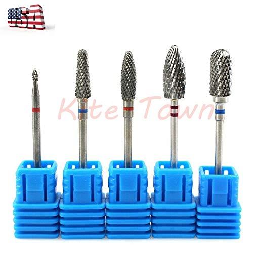 1pc Tungsten Carbide Nail Art Drill Bits Manicure Drill Machine Files