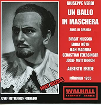 Verdi: Un ballo in maschera (Sung in German)