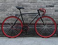 ロード自転車、26インチバイク、リバースブレーキシステム、高炭素鋼フレーム、ロード自転車レース、男性と女性の大人