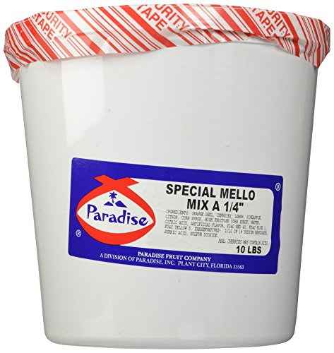 Paradise Special Mello Mix 1/4 Inch, 10 Pound Tub