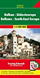 Balcani-Europa sud-est-Europa 1:2.000.000: Wegenkaart 1:2 000 000: AK 2003