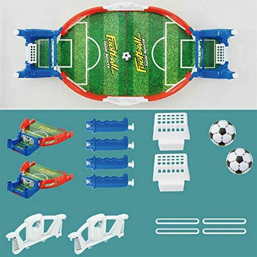 MMI-LX LYRONG Juego de mesa de futbolín redondo para interiores Mini juego interactivo para niños y adultos (color: como se muestra)