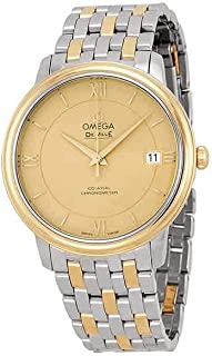 DeVille Prestige Steel and Yellow Gold Mens Watch 42420372008001