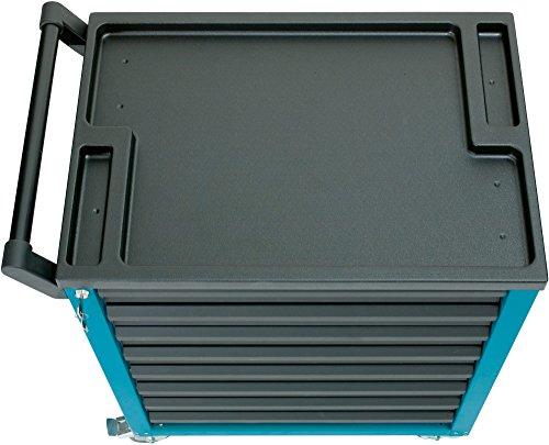HAZET Werkstattwagen Assistent (4 flache und 2 hohe Schubladen, Traglast pro Schublade 20 kg, Gesamttragkraft (statisch): 300kg) 177-6 - 6