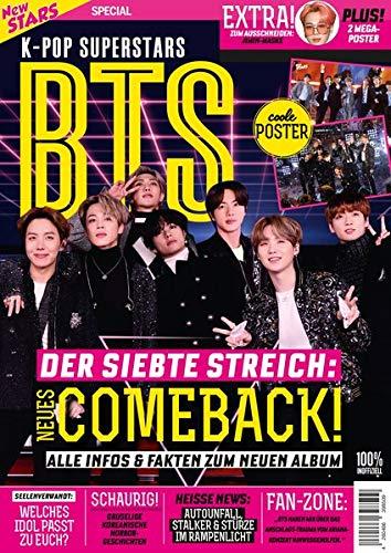 New Stars Special K-Pop Superstars BTS - DER SIEBTE STREICH: NEUES COMBACK!: ALLE INFOS & FAKTEN ZUM NEUEN ALBUM