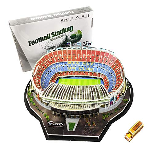 TriPro 3D Jigsaw Puzzle Camp Nou Football Stadium DIY Model Set