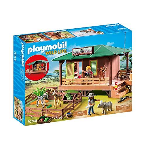 Playmobil 70766 - Centre de Soins pour Animaux de la Savane