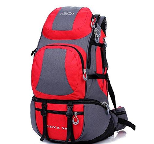 Voyage sacs à dos sac à dos de sports de plein air 38 L randonnée , red