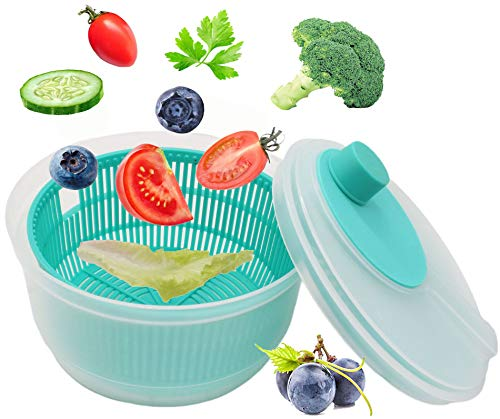 OVO Salad spinner, salad spinners best rated for fast salads prep-Φ8 INCH