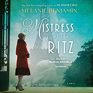 Mistress of the Ritz audiobook cover art