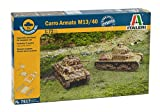 Italeri 7517 - Carro Armato M-13/40 - Fast Assembly (2 Pcs) Model Kit Scala 1:72