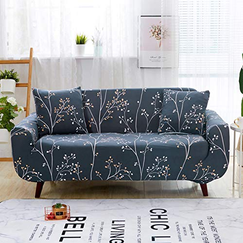 ENCOFT 1/2/3/4 Sitzer Sofabezug Sofaüberwurf Stretch weich elastisch farbecht (Type-3, 3 sitzer)