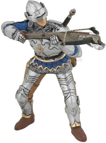 Speelfiguur - Mens - Ridder - Met kruisboog - Blauw