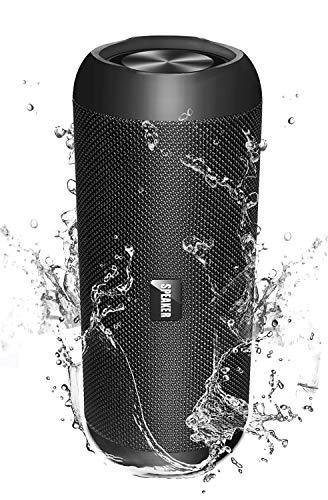Bluetooth Lautsprecher 30W, 【Upgraded M2 Pro】 Bluetooth Box Musikbox 5200mAh, IPX67 wasserdichter tragbarer Stereo, 360° Stereo Lautsprecher Sound, 30-Stunden Spielzeit Sprachassistent und Mikrofon