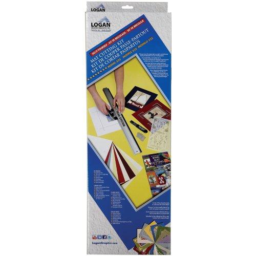 Logan LOG525 Mat Cutting Kit, Multicolor