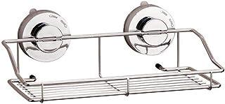 Support d'angle de salle de bain Support de rangement pour salle de bain Organisateur Titulaire Plateau Avec Ventouses Sto...