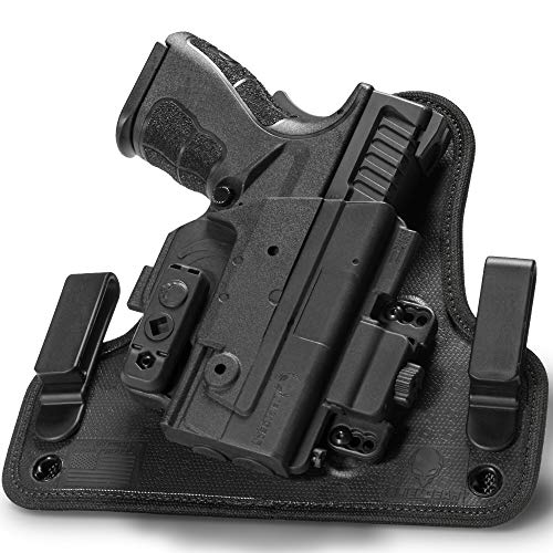 Alien Gear holsters SSIW0203RHXX Agh Ssiw-0203-RH-XXX Shape Shift 4.0 IWB XD 3