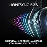 Zoom IMG-1 logitech g935 cuffie gaming rgb