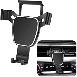 LUNQIN Car Phone Holder for 2017-2020 Audi A4 S4 A5 S5 Auto Accessories Interior Decoration Mobile Cell Phone Mount