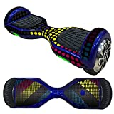 Fewear Protective Skin Decal for 6.5in Self Balancing Scooter Hoverboard 2 Wheels- Sticker for Hover Board - Skin for Self-Balancing Electric Scooter - Decal for Self Balance Mobility Longboard (M)