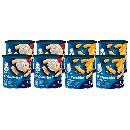 gerber baby food puffs - 2