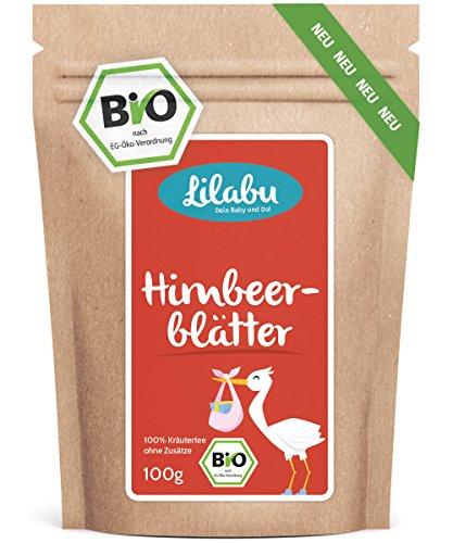 recommandé par les sages-femmes - - feuille framboise thé (60 g, Bio) - Soins prénataux - Grossesse - très grandes feuilles - assez pour 40 tasses en bouteille et contrôlée en Allemagne (DE-ÖKO-005)