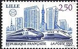 Prophila Collection Francia Michel.-No..: 2957 (Completa.edición.) 1993 TGV-Curso (Sellos para los coleccionistas) vehículos sobre raíles / funicular