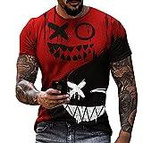 LaiYuTing Camiseta Estampada En 3D De Moda para Hombre, Camiseta...