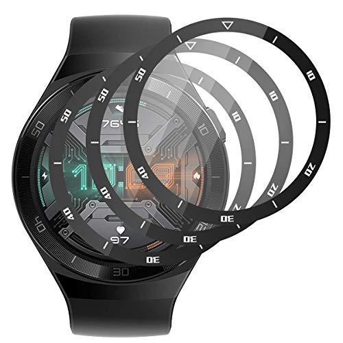 RSSYTZ [3 Stück Schutzfolie für Huawei GT2E, [Kompatibel mit Hülle] [Blasenfreie] [Klar HD] [Anti-Kratzen] [Anti-Fingerprint].Huawei GT2E Weich TPU Bildschirmschutz