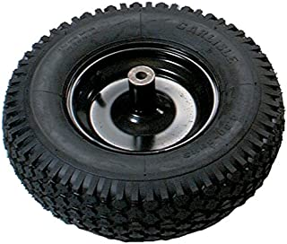 True Temper T22KBCC 8 in. Hub Tubed Wheelbarrow Tire Wheel with Knobby Tread, 8-Inch
