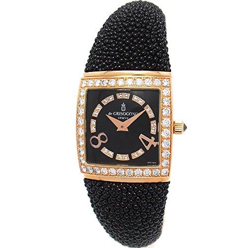 [ドゥ グリソゴノ]DE GRISOGONO 腕時計 PICCOLINA(ピッコリーナ) S02M レディース [並行輸入品]