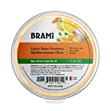 BRAMI Lupini Bean Hummus Dip & Spread | 0g Sugar, 0g Net Carbs | Keto, Vegan, Vegetarian, ...