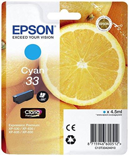 Epson T334240 Inkjet/getto d'inchiostro Cartuccia originale