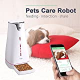 Hoison SmartFeeder Wi-Fi Programmable Dogs & Cats Feeder With LCD...