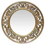 Infinity Instrumentos Victoria 23.5Inch Dorado Cepillado Espejo de Pared