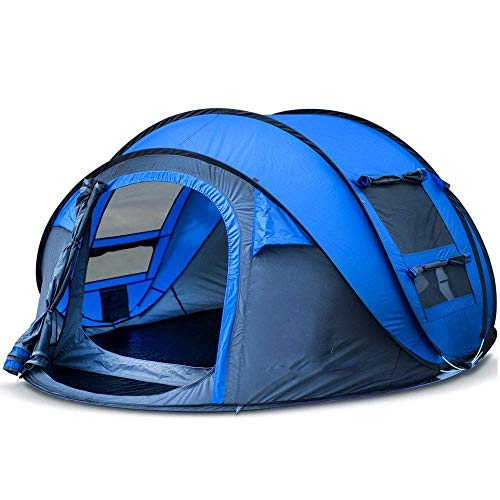 Dhmm123 Durable Camping Tent Camping Tent Outdoor Backpack Lightweight Waterproof Family Tent Pop-up 290 × 200 × H130cm,Easy to Install