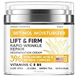 Anti-Wrinkle Cream for Face - Retinol Cream for Double Chin and Lifting - Neck Firming Cream for Face with Hyaluronic...