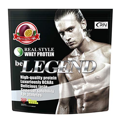 [Amazon限定ブランド] Real Nutrition ビーレジェンド ホエイプロテイン 情熱のパッションフルーツ風味【1kg】(WPC)