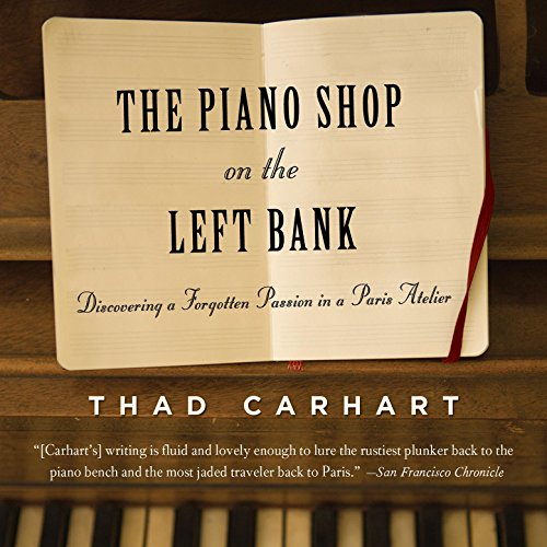 The Piano Shop on the Left Bank audiobook cover art