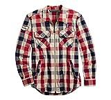 Harley-Davidson Men's #1 Plaid Zippered Shirt (Medium)