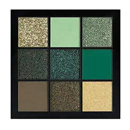 Battnot Lidschatten Palette 9 Farben Cosmetic Matte Eyeshadow Cream Makeup Palette Shimmer Set Lidschatten Eyeshadow (9 Farbe, E)