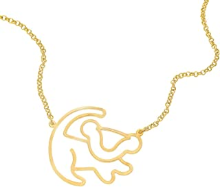 Der König der Löwen Le Roi Lion Disney by Couture Kingdom , Silhouette De  Simba Collier