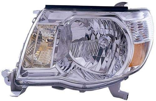 Go-Parts - for 2005 - 2011 Toyota Tacoma Front Headlight Assembly Housing / Lens / Cover - Left (Driver) Side 81150-04163 TO2502157 Replacement 2006 2007 2008 2009 2010