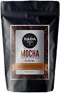 Bada Bean Coffee, Mocha, Roasted Beans. Fresh Roasted Daily. Award Winning Speciality Coffee Beans. 1000g (Ground for Filter)