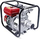 High Pressure Water Pump Gas Powered, 7.5Hp Gas Water Pump 3600R/Min 264Gpm, Water Transfer Irrigation Water For Pool , Garden, Tunnel Etc.