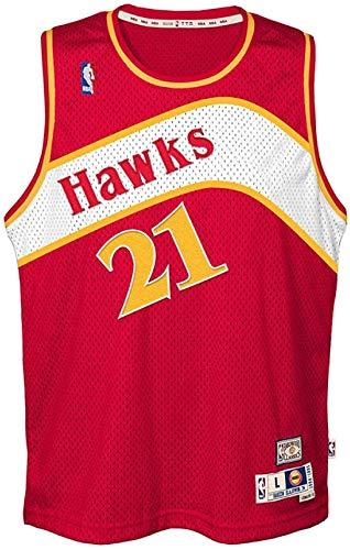 Dominique Wilkins Atlanta Hawks Red Youth NBA Hardwood Classics Swingman Jersey (Small 8)