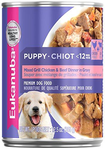 EUKANUBA Puppy Mixed Grill Chicken & Beef Dinner in Gravy Formula...
