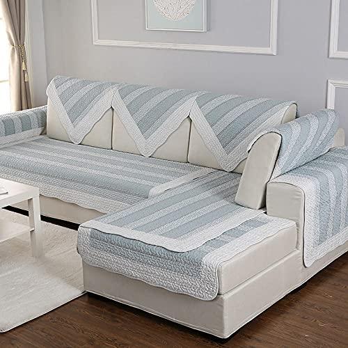 Robusto Funda de sofá, Funda de sofá para Sala de Estar Forro de sofá para sofá en Forma de L Deslizamiento Suave,Cubierta de deslizamiento universal para 2/3/4 plazas (solo 1 pieza / no todo conjunt